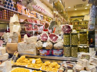 Top 5: Food Shops in Rome