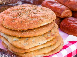 Top 5: Schiacciata all'Olio in Florence (Crispy Bread Focaccia)
